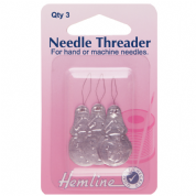 Hemline Needle Threader - 3 pack